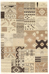 Himalaya Rug 121X182 Authentic  Modern Handknotted Light Brown/Beige (Wool, India)