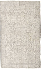 Colored Vintage Rug 164X273 Authentic  Modern Handknotted Light Grey/Dark Beige (Wool, Turkey)