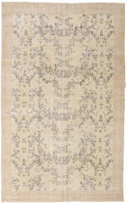 Colored Vintage Rug 200X320 Authentic  Modern Handknotted Light Brown/Beige (Wool, Turkey)