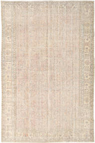 Colored Vintage Rug 195X300 Authentic  Modern Handknotted Light Brown/Beige (Wool, Turkey)