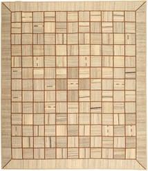 Kelim Patchwork Matto 253X293 Moderni Käsinkudottu Tummanbeige/Vaaleanruskea Isot (Villa, Persia/Iran)