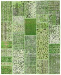 Patchwork Matto 203X251 Moderni Käsinsolmittu Tummanvihreä/Pastellinvihreä/Vaaleanvihreä (Villa, Turkki)