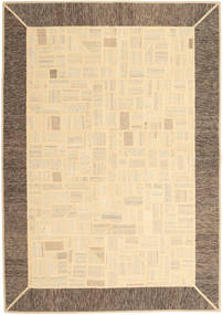 Kilim Patchwork Rug 170X239 Authentic  Modern Handwoven Beige/Light Brown (Wool, Persia/Iran)