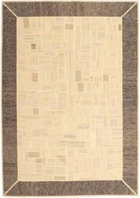 キリム パッチワーク 絨毯 170X239 モダン 手織り ベージュ/薄茶色 (ウール, ペルシャ/イラン)