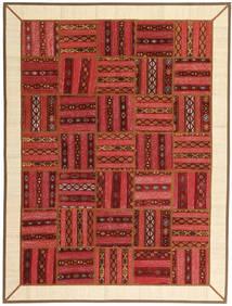 Kilim Patchwork Rug 178X237 Authentic  Modern Handknotted Dark Red/Rust Red/Beige (Wool, Persia/Iran)