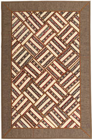 Kilim Patchwork Rug 165X252 Authentic  Modern Handknotted Brown/Dark Brown (Wool, Persia/Iran)