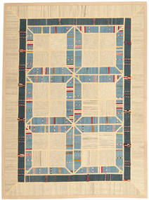 Kilim Patchwork Rug 177X238 Authentic  Modern Handwoven Beige/Light Brown (Wool, Persia/Iran)