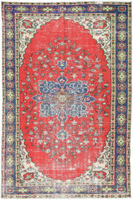 Colored Vintage Teppe 173X265 Ekte Moderne Håndknyttet Mørk Beige/Lys Grå (Ull, Tyrkia)