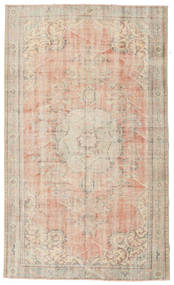 Colored Vintage Rug 167X280 Authentic  Modern Handknotted Light Brown/Light Pink (Wool, Turkey)