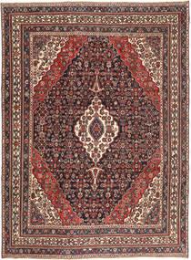 Hamadan Patina Matto 267X365 Itämainen Käsinsolmittu Tummanpunainen/Tummanruskea Isot (Villa, Persia/Iran)