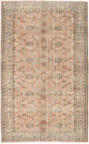 カラード ヴィンテージ 絨毯 163X264 モダン 手織り 薄茶色/ライトピンク (ウール, トルコ)