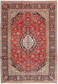 Keshan Patina Rug 242X345 Authentic  Oriental Handknotted Brown/Dark Blue (Wool, Persia/Iran)