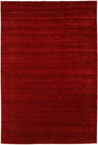 Loribaf Loom Giota - Red Rug 190X290 Modern Dark Red (Wool, India)