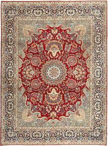 Kerman Patina Matto 275X373 Itämainen Käsinsolmittu Tummanpunainen/Tummanharmaa Isot (Villa, Persia/Iran)
