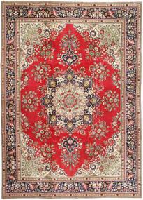 Tabriz Patina Alfombra 245X340 Oriental Hecha A Mano Marrón Claro/Marrón (Lana, Persia/Irán)