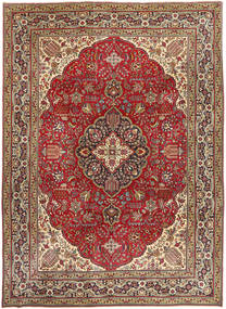 Tabriz Patina Rug 250X345 Authentic Oriental Handknotted Dark Red/Dark Brown Large (Wool, Persia/Iran)