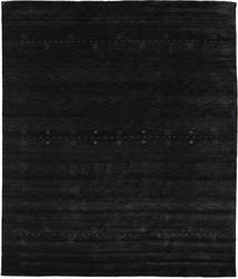 Loribaf Loom Eta - Black / Grey carpet CVD18000