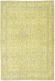 Colored Vintage Rug 172X263 Authentic  Modern Handknotted Yellow/Light Green (Wool, Turkey)