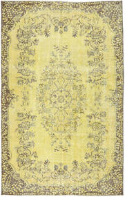 Colored Vintage Rug 170X270 Authentic  Modern Handknotted Yellow/Light Green (Wool, Turkey)