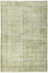 Colored Vintage Rug 172X265 Authentic  Modern Handknotted Light Green (Wool, Turkey)