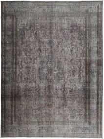 Colored Vintage Rug 290X385 Authentic  Modern Handknotted Dark Grey/Light Grey Large (Wool, Persia/Iran)