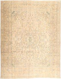 Colored Vintage Teppich  295X380 Echter Moderner Handgeknüpfter Beige/Hellbraun/Hellrosa Großer (Wolle, Persien/Iran)