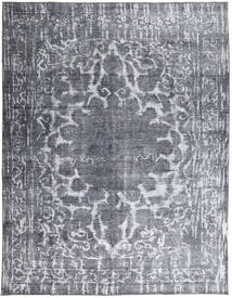 Colored Vintage Rug 290X375 Authentic  Modern Handknotted Dark Grey/Light Grey/Light Blue Large (Wool, Pakistan)