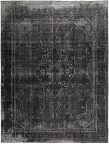 カラード ヴィンテージ 絨毯 295X380 モダン 手織り 濃いグレー/濃い茶色 大きな (ウール, ペルシャ/イラン)