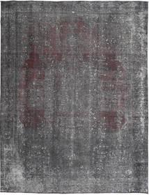カラード ヴィンテージ 絨毯 293X383 モダン 手織り 濃いグレー/薄い灰色/ピンク 大きな (ウール, パキスタン)