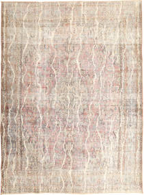 Colored Vintage Rug 275X375 Authentic  Modern Handknotted Light Grey/Beige Large (Wool, Persia/Iran)