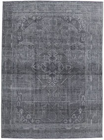 Colored Vintage Rug 245X335 Authentic  Modern Handknotted Dark Grey/Light Blue (Wool, Persia/Iran)