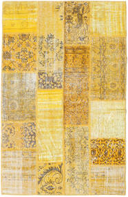 Patchwork Rug 131X202 Authentic  Modern Handknotted Yellow/Light Brown (Wool, Turkey)