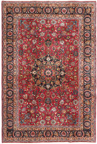 Mashad Patina Rug 192X288 Authentic  Oriental Handknotted Dark Red/Dark Brown (Wool, Persia/Iran)