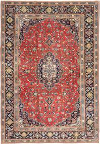 Tabriz Patina Teppe 255X370 Ekte Orientalsk Håndknyttet Lysbrun/Mørk Lilla Stort (Ull, Persia/Iran)