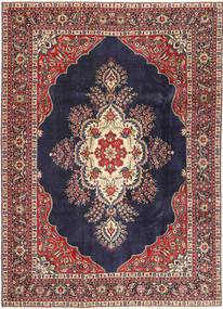Tabriz Patina Alfombra 240X338 Oriental Hecha A Mano Púrpura Oscuro/Rojo Oscuro (Lana, Persia/Irán)