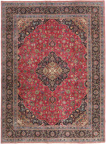 Mashad Patina Rug 288X387 Authentic  Oriental Handknotted Light Brown/Dark Blue Large (Wool, Persia/Iran)