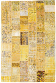 Patchwork Rug 200X300 Authentic  Modern Handknotted Yellow/Light Brown (Wool, Turkey)