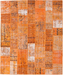 Patchwork Rug 252X303 Authentic  Modern Handknotted Orange/Light Brown Large (Wool, Turkey)