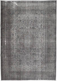 Colored Vintage Rug 240X335 Authentic  Modern Handknotted Dark Grey/Light Grey (Wool, Persia/Iran)