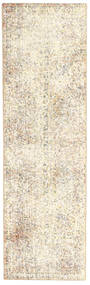 Colored Vintage Rug 72X248 Authentic  Modern Handknotted Hallway Runner  Beige/Light Brown (Wool, Persia/Iran)
