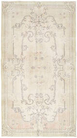 Colored Vintage Rug 114X208 Authentic  Modern Handknotted Beige/Dark Beige (Wool, Turkey)