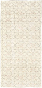 Colored Vintage Rug 91X191 Authentic  Modern Handknotted Beige (Wool, Turkey)