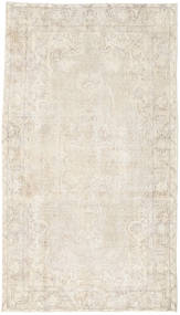 Colored Vintage Rug 117X209 Authentic  Modern Handknotted Beige/Light Grey (Wool, Turkey)