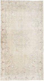 Colored Vintage Rug 116X215 Authentic  Modern Handknotted Light Grey/Beige (Wool, Turkey)