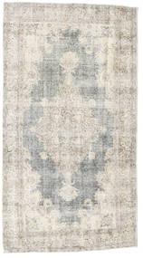 Colored Vintage Teppich  110X204 Echter Moderner Handgeknüpfter Hellgrau/Dunkel Beige (Wolle, Türkei)