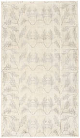 Colored Vintage Rug 112X193 Authentic  Modern Handknotted Beige/Light Grey (Wool, Turkey)