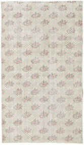 Colored Vintage Rug 114X197 Authentic  Modern Handknotted White/Creme/Dark Beige (Wool, Turkey)