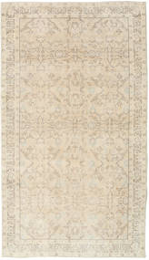 Colored Vintage Rug 121X212 Authentic  Modern Handknotted Beige/Light Grey (Wool, Turkey)