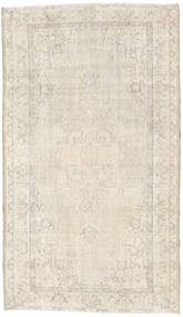 Colored Vintage Rug 119X206 Authentic  Modern Handknotted Beige/Light Grey (Wool, Turkey)