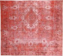 Colored Vintage Dywan 250X283 Nowoczesny Tkany Ręcznie Rdzawy/Czerwony/Ciemnobeżowy Duży (Wełna, Persja/Iran)
